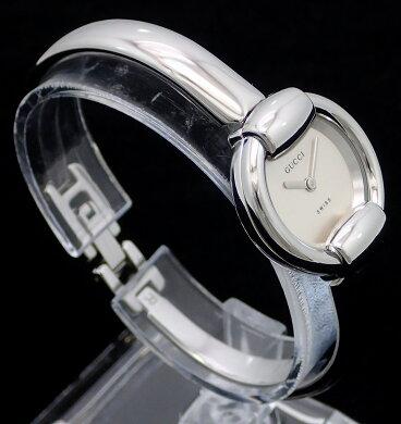 【ウォッチ】GUCCIグッチシルバー文字盤rサイズSSレディースQZクォーツ腕時計1400L【】【k】【Blumin店】