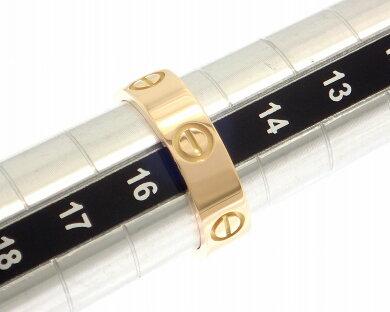 【ジュエリー】【新品仕上げ済】CartierカルティエラブリングLOVE指輪16号#56K18YGイエローゴールドリングB4084600B4084656【】【k】【Blumin/森田質店】【質屋出店】
