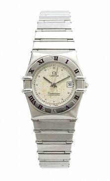 【ウォッチ】OMEGA オメガ コンステレーション シルバー文字盤 SS レディース QZ クォーツ 腕時計 【中古】【u】