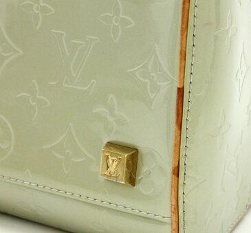 【バッグ】LOUIS VUITTON ルイ ヴィトン モノグラムヴェルニ トンプキンス スクエア ハンドバッグ ミニボストンバッグ グリ シルバーグレー M91150 【中古】【k】