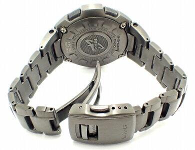 【現金特価】【ウォッチ】CASIOカシオG-SHOCKMR-Gチタンソーラー電波時計メンズ腕時計MRG-7700B【】【k】【Blumin/森田質店】【質屋出店】
