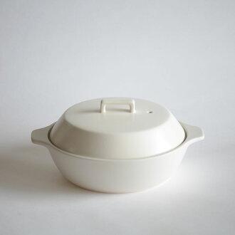 親戚/KAKOMI IH 陶鍋 1.2 L (WH) [112578