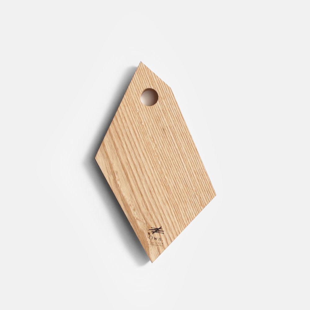Own. / Fragment Board size:S(White Ash)【メール便可 1点まで】【オウン/フラグメントボード/ウッドボード/カッティングボード/まな板/B.L.Wオリジナル/ホワイトアッシュ/CRAGG】[112747
