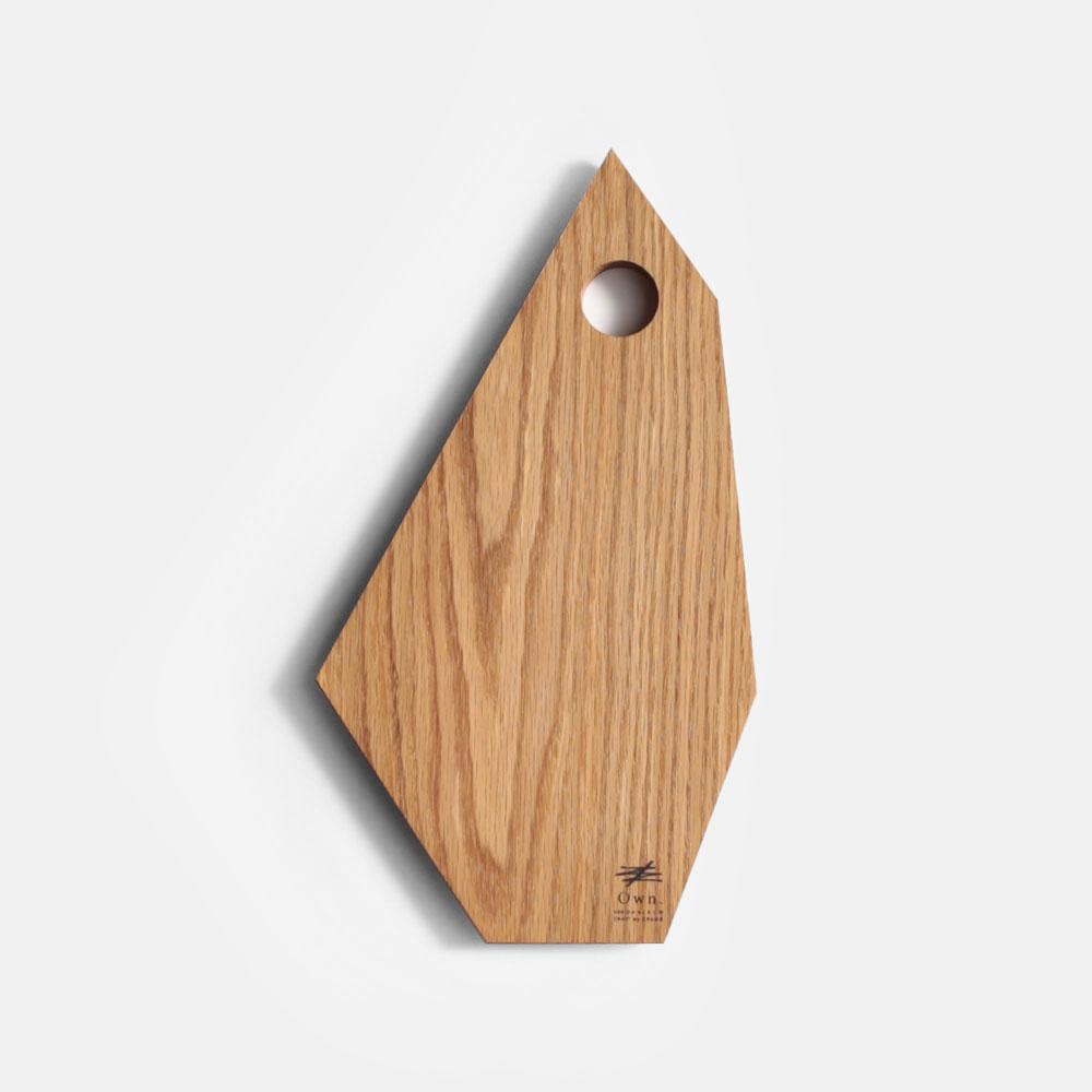 Own. / Fragment Board size:M(White Oak)【オウン/フラグメントボード/ウッドボード/カッティングボード/まな板/B.L.Wオリジナル/ホワイトオーク/CRAGG】[113408
