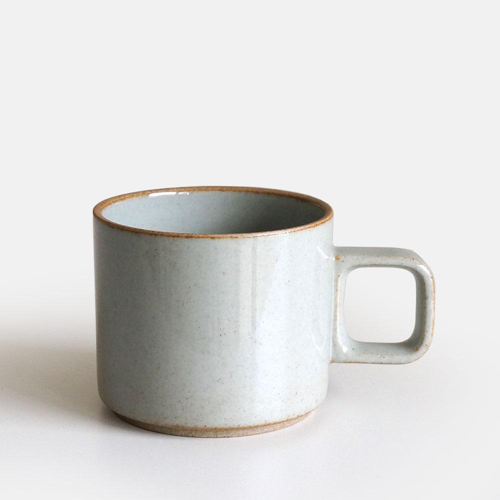 【あす楽対応】HASAMI PORCELAIN[ハサミポーセリン] マグカップ(グロスグレー) size:S 330ml 電子レンジ対応 HPM019 [111159
