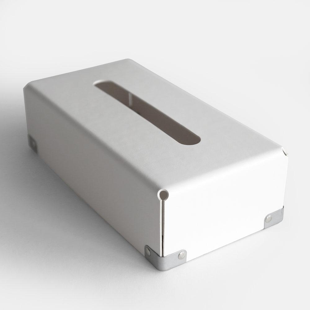 【あす楽対応】concrete craft / BENT TISSUE BOX(White)【コンクリートクラフト/ベント/クラフトワン/craft_one/ティッシュボックス/ホワイト】[113750