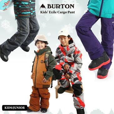 20-21 BURTON バートン キッズ ウェア Kids' Exile Cargo Pant パンツ スノーウェア スノーボード スキー 子供 スノボウェア【ぼーだまん】