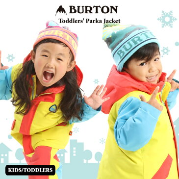 20-21 BURTON バートン トドラー ウェア Toddlers' Parka Jacket ジャケット スノーウェア スノーボード スキー 子供 キッズ【ぼーだまん】