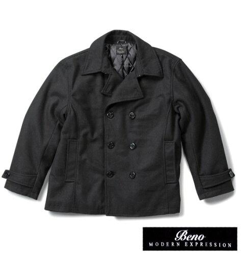 Beno Pコート ブラック 1153-1331-2 [3L・4L・5L・6L]