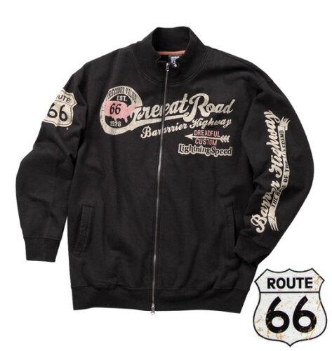 ROUTE66 フルジップジャケット ブラック 1158-1336-2 [3L...