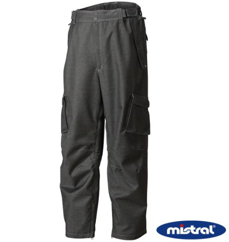 mistral スノボーパンツ ブラック 1156-1301-2 [3L・5L・...