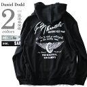 【大きいサイズ】【メンズ】DANIEL DODD バックプリントプルオーバーパーカー(Full Throttle)【秋冬新作】azsw-170488