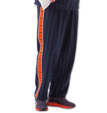 大きいサイズ メンズ PUMA トレーニングパンツ ネイビー×オレンジ 1176-5301-1 [4XO・5XO・6XO・7XO]