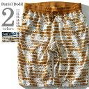 【大きいサイズ】【メンズ】DANIEL DODD パイナップルボーダー...