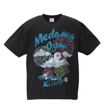 大きいサイズ メンズ ゲゲゲの鬼太郎 半袖Tシャツ ブラック 1178-8550-2 [3L・4L・5L・6L・8L]