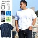 【タダ割】【大きいサイズ】【メンズ】DANIEL DODD オーガニック無地Tシャツ azt-180261