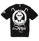 【大きいサイズ】【メンズ】 新日本プロレス L・I・J半袖Tシャツ ブラック×ホワイト 1178-8375-1 [3L・4L・5L・6L・8L]