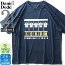 大きいサイズ メンズ DANIEL DODD オーガニック プリント 半袖 Tシャツ SCRUM azt-200229