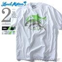 大きいサイズ メンズ LOCAL MOTION(ローカルモーション)プリント半袖Tシャツ(HAWAIAN STYLE)【USA直輸入】mts4211