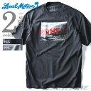 大きいサイズ メンズ LOCAL MOTION(ローカルモーション) プリント半袖Tシャツ(HI)【USA直輸入】smt-4304