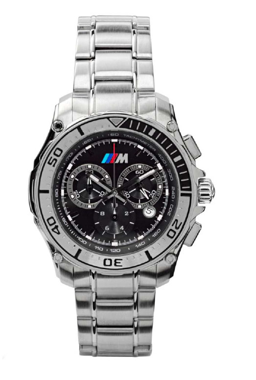 bmp rakuten global market bmw accessories m collection m sports chronograph watch. Black Bedroom Furniture Sets. Home Design Ideas