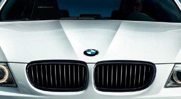 【送料無料】【BMW純正】BMW Performance パーツ 3シリーズ前期(〜2008/09) BMW E90/E91 ブラック・ グリルセット BMW パフォーマンスパーツ