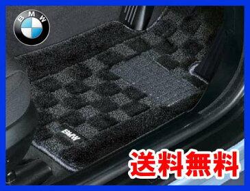 【BMW純正】【送料無料】BMW フロアマット BMW F36 4シリーズ グランクーペ 右ハンドル車用 シャギーフロアマット(ブラック)