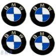【BMW純正】BMW エンブレム BMW ホィールキャップ バッジ 70mm 4枚セット