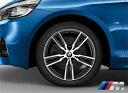 BMW 純正アルミホイール BMW F45/F46 2シリーズ アクティブツアラー/グランツアラー M ライト・アロイ・ホイール・ダブルスポーク・スタイリング486M 単体 8J×18(フロント/リヤ共通)