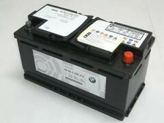 【BMW純正】【BMW純正】 バッテリー 充電済み高性能バッテリー80A AGM(ブラック)
