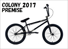 "【SALE】2015COLONY-PREMISE20.5""PURPLESTORM/BMXストリート完成車自転車"