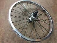 【完組ホイール】RANT Moonwalker Freecoaster Wheel シルバー / ラント 完組フリーコースターリアホイールセット BMX ストリート