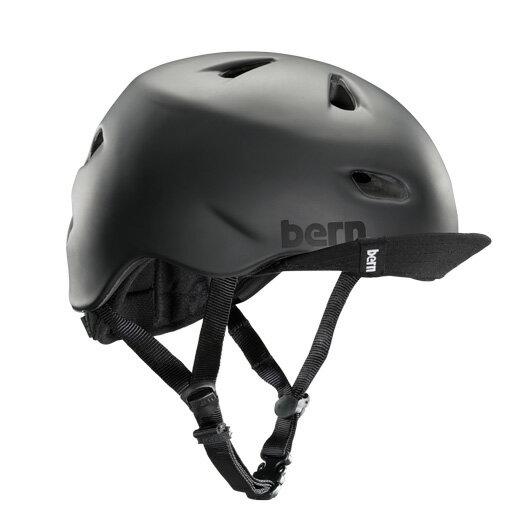 bern - BRENTWOOD マットブラック / バーン ブレントウッド BMX スケート ヘルメット