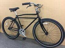 【在庫処分】2015FOLK-LUXE/MATBLACK/シングルスピードファットバイクマウンテンバイクMTB自転車完成車BMX