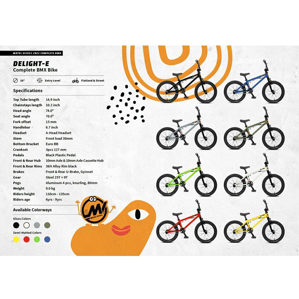 自転車・サイクリング, BMX 2021 MOTELWORKS - DELIGHT E 8 16BMX BMX 69 E BMX