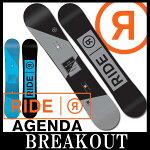 15-16RIDE/ライドAGENDAオールラウンドメンズ予約商品スノーボード板