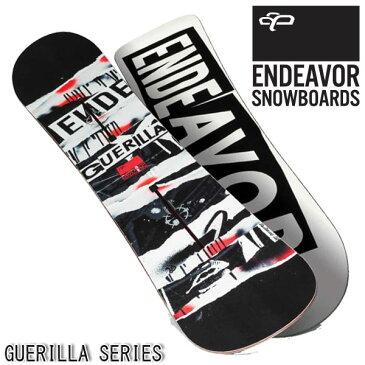【楽天スーパーセール!!】 スノーボード 板 エンデバー グラトリ メンズ ENDEAVOR GUERILLA 2015-2016