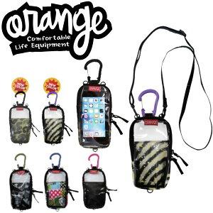 ORANGE / オレンジ Mobile Poach モバイルポーチ パスケース スノーボード スキー メール便 290円