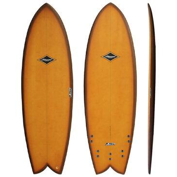 サーフボード ショートレトロフィッシュ サーフィン アドバンス/ADVANCED 5'7 5'9 6'0 6'3 EPS/バンブー 営業所止め 送料無料