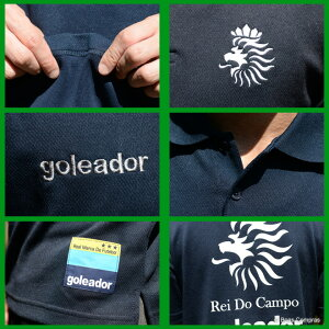 ゴレアドール/goleador_g-2002_ダブルフェイス綿&ポリReiDoCampoポロシャツ〜フットサルウェア
