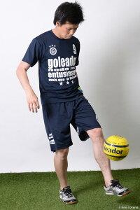 ゴレアドール/goleador_レタリングプラTシャツ〜フットサルウェア