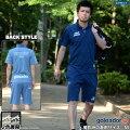 ゴレアドール/goleador_インディゴ染めポロシャツ上下セット〜フットサルウェア