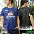 ジョガボーラ/jogarbola グリッドパターンプラクティスシャツ