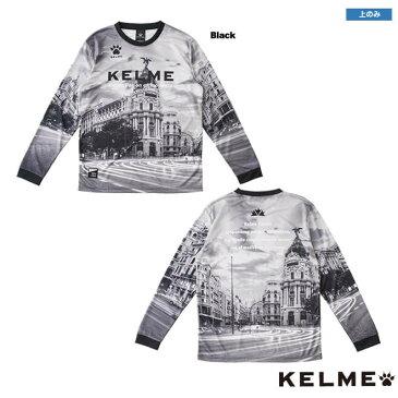 ケルメ ロングプラシャツ [kpw032a ロングプラシャツ] kelme フットサル ウェア ロングTシャツ 長袖 kelme ロングプラシャツ 【ネコポス対応】【単品商品】