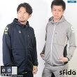 スフィーダ/sfida ベーシックスウェットフードジャケット