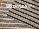 ニット生地20番双糸天竺・先染めMIX杢ボーダー