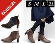 【SALE】【サイドゴア レディース/婦人靴】BOBSON ボブソン 22.5/23.0/23.5/24.0/24.5cm レディース 軽量 履きやすい 歩きやすい グレー ネイビー ブラウン 丸大 BOBSON ボブソン レディース サイドゴア