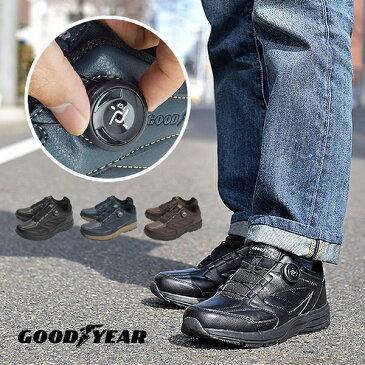 『 グッドイヤー シューズ 』ダイヤル式 ダイヤル TGF スニーカー 靴 メンズ 履きやすい 歩きやすい ワイヤー 紐がない 結ばない GOOD YEAR ダイヤル式 シューズ