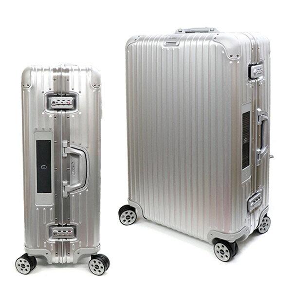 リモワ【RIMOWA】 924.70.00 500 TOPAS 70 E-Tag NG Silber シルバー 電子タグ スーツケース 4輪 78L 旅行 アタッシュケース キャリーバック TSAロック ナンバーロック アルミニウム