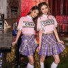 チアリーダーチアガール衣装K-Cheerleaderハロウィンハロウィンコスチュームコスプレ